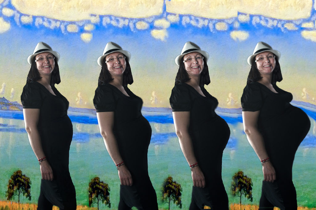 Prise en 4 séances pour futures mamans 3 / 5 / 7 / 9ème  mois